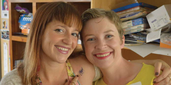 Image of Molly Raynor and her Neurtal Zone alum Evelyn Hollenshead