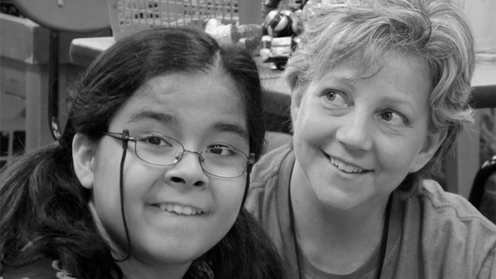 Elisa Browning, member of the Special Needs Ministry at Keystone Church, and her Volunteer Buddy, Karen Kle.
