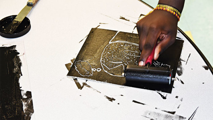 Youth Arts Alliance, which serves youth impacted by the juvenile justice system in the area, is an outlet that connects healing and the arts for students.