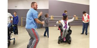 Participants enjoy the open studio Adaptive Dance Program at Ballet Chelsea.