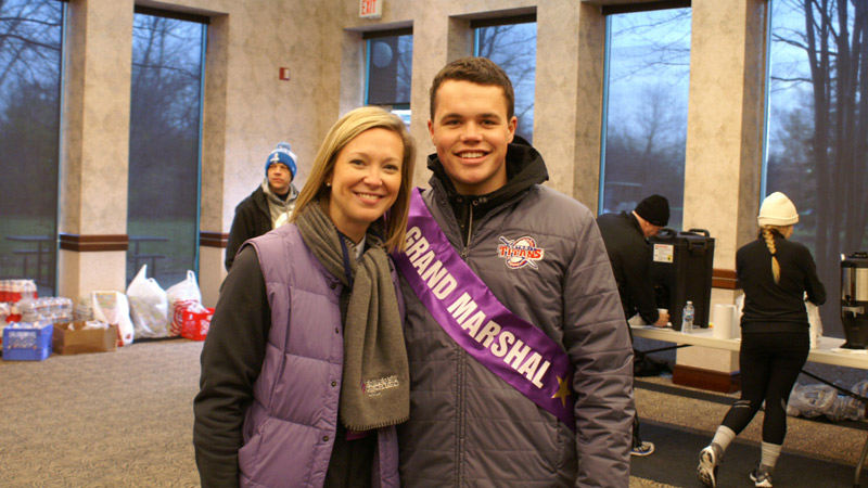 Brianna Romines and Justin Murray- the inspiration behind Turkey Trot.