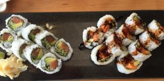 Sushi Rolls at Momo Sushi