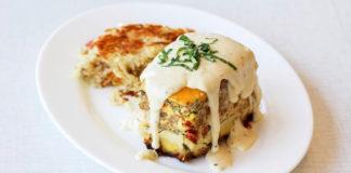 Anna's House breakfast lasagna