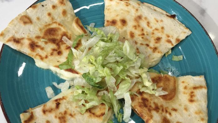 Quesadilla from Luna's Mexican Street Food.