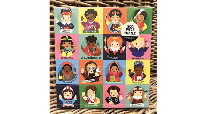 Mudpuppy's Little Feminist 500 Piece Puzzle