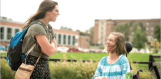 Putting people first in talking to persons with disabilities