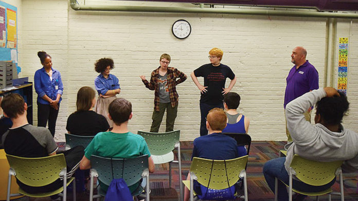 Teen Advisory members hosted Mind Your Brain, a mental health awareness event, at the Whittaker branch of the Ypsilanti District Library in May.