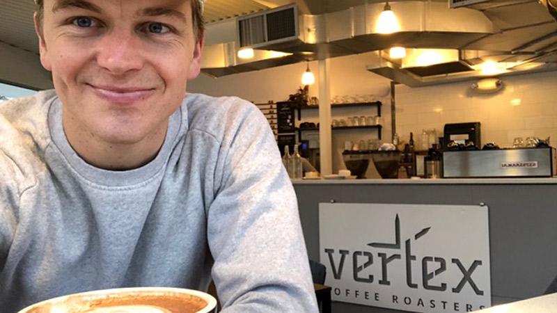 Hot chocolate Vertex Coffee Roasters