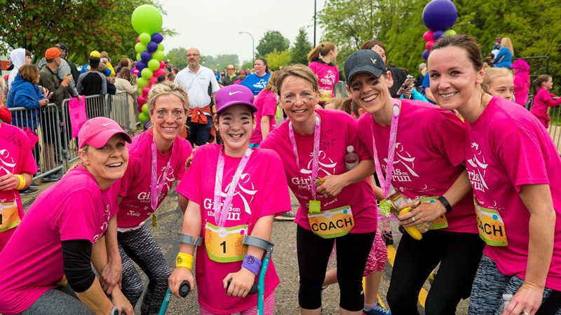 Girls on the Run of Southeast Michigan will host a spring 5K event at Washtenaw Community College on May 17, 2020.
