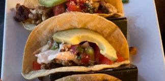 The Session Room tacos
