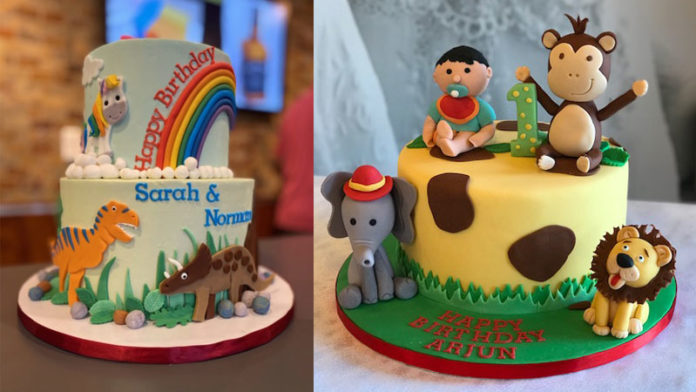 Amazing cakes await your birthday prince or princess including this one designed and baked by Cakes by Rubina. Photo courtesy of Cakes by Rubina.