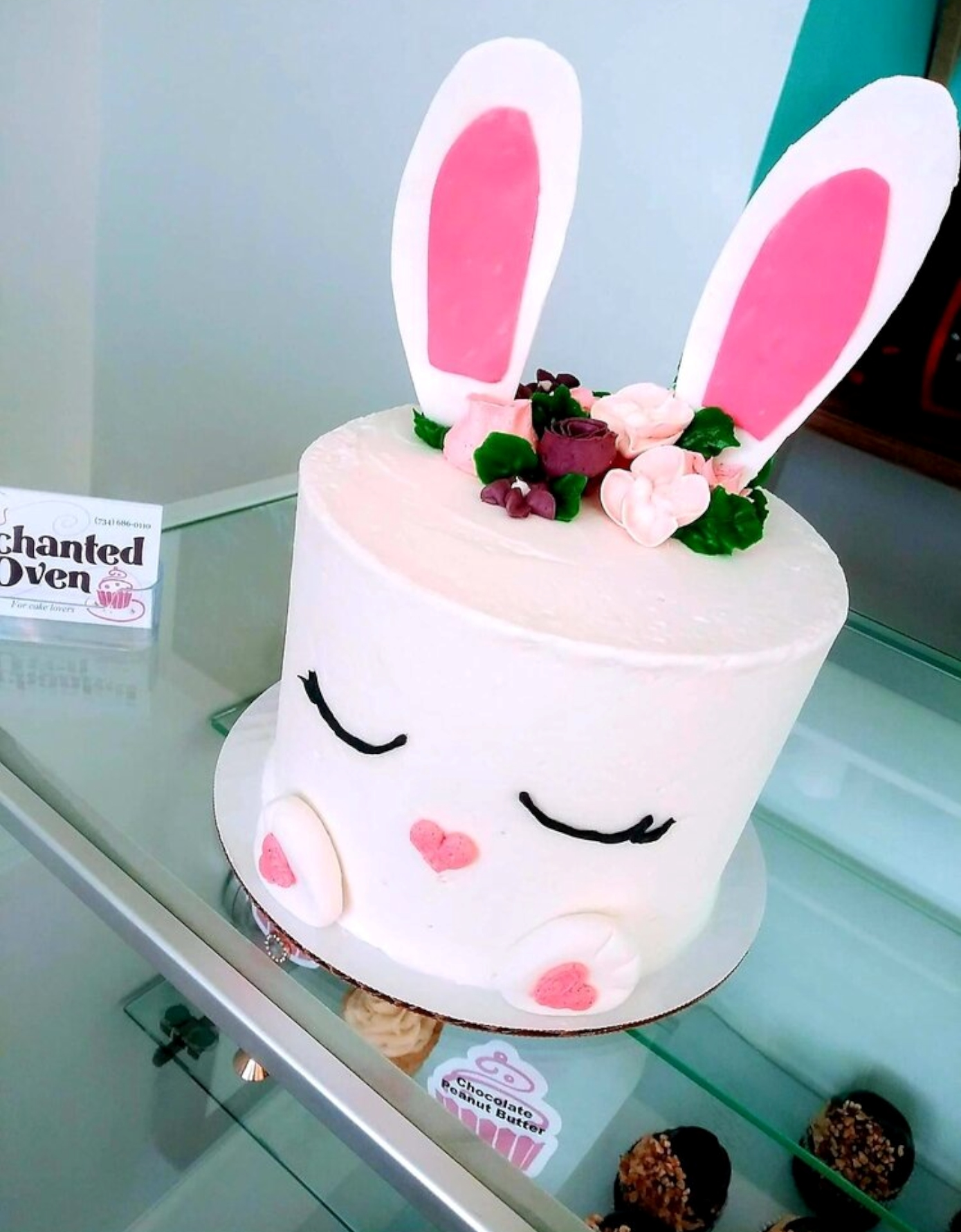 Enchanted Oven's Easter Cake is beyond adorable.