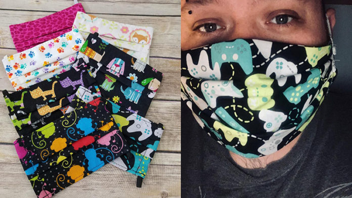 Image courtesy of Karen's Collection (Left) and Ypsi Masks (Right)