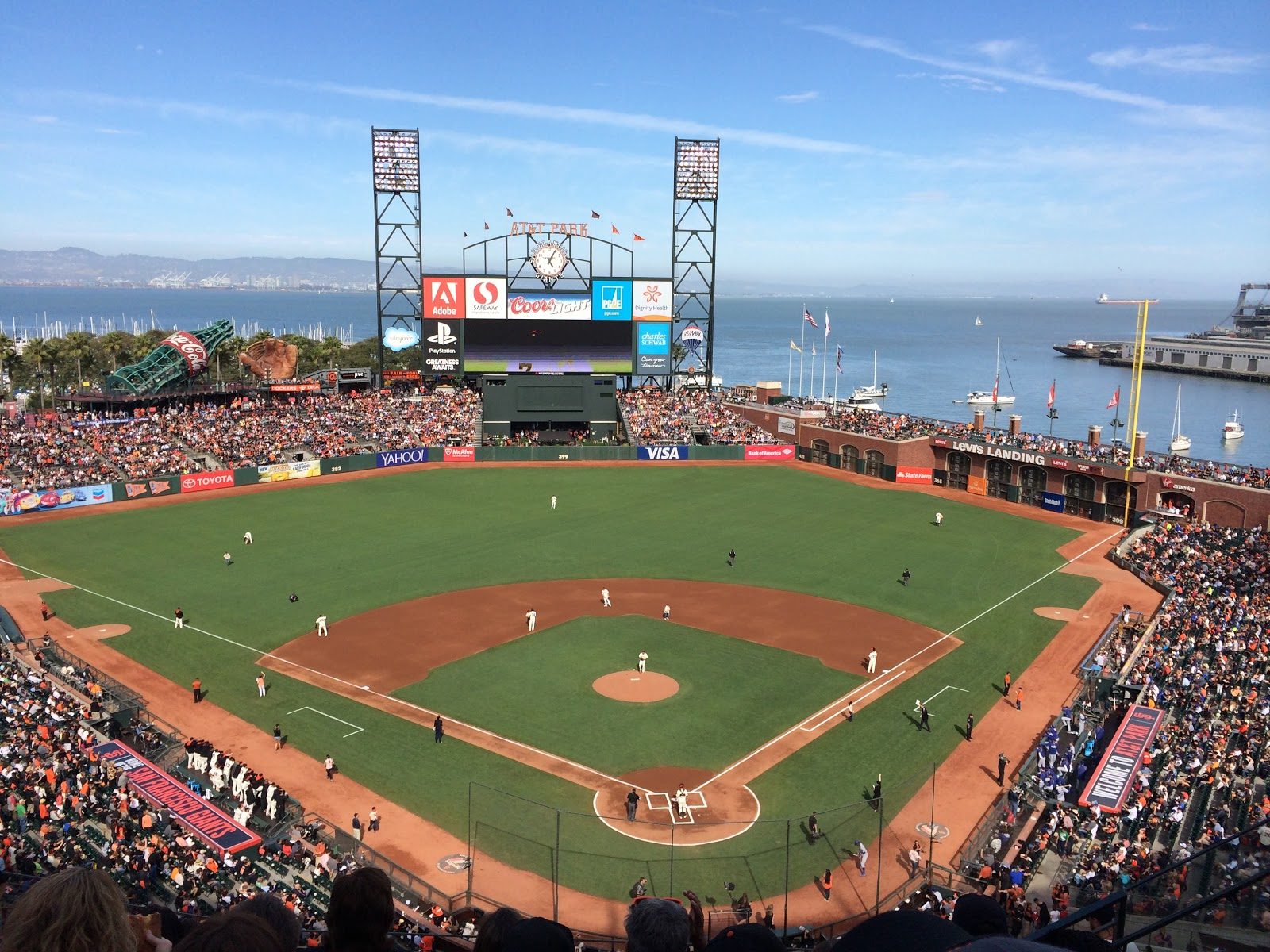 Oracle Park. Photo courtesy of Creative Commons