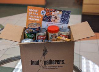 Food Gatherers emergency food box