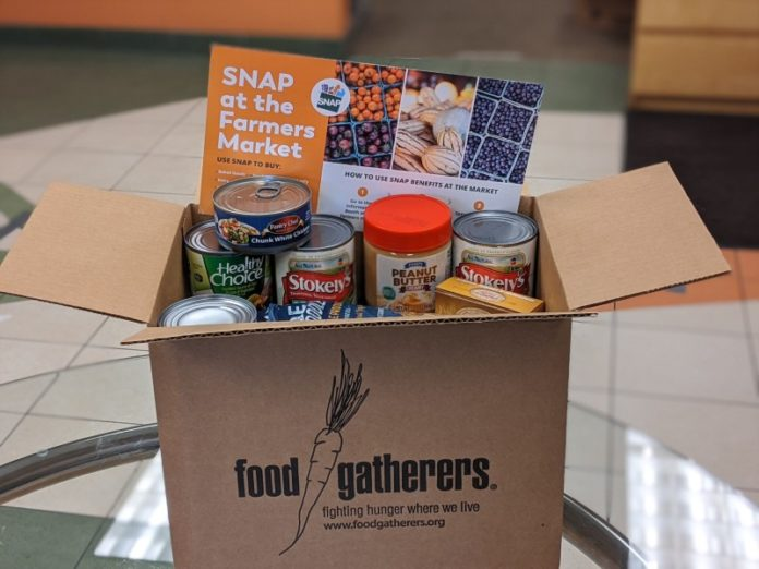 Food Gatherers emergency food box