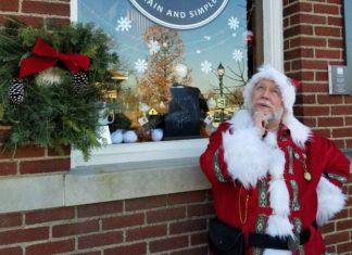 McPherson Local Santa