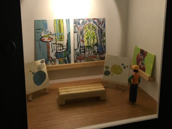 little art galleries