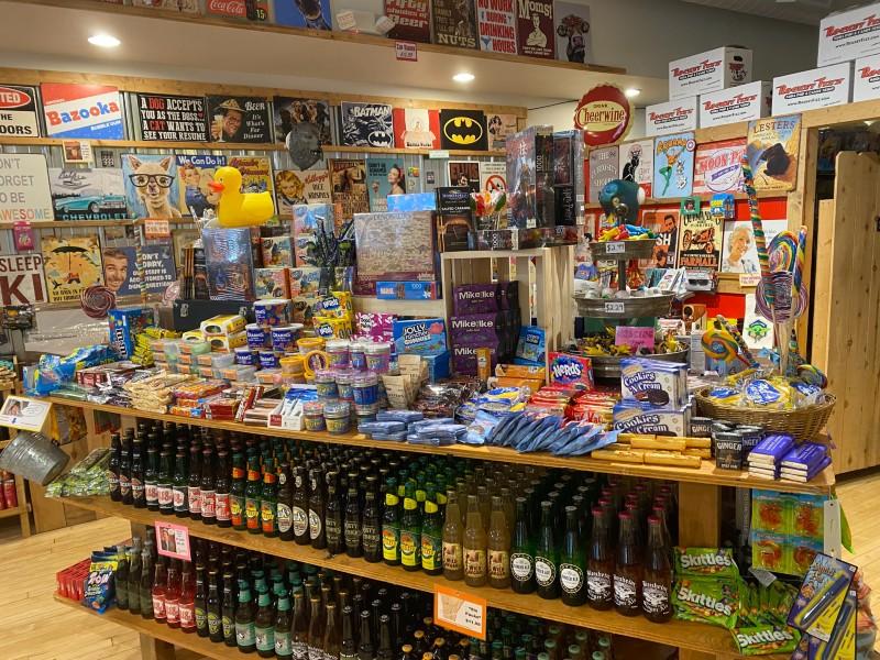 rocket fizz soda pop and candy shop